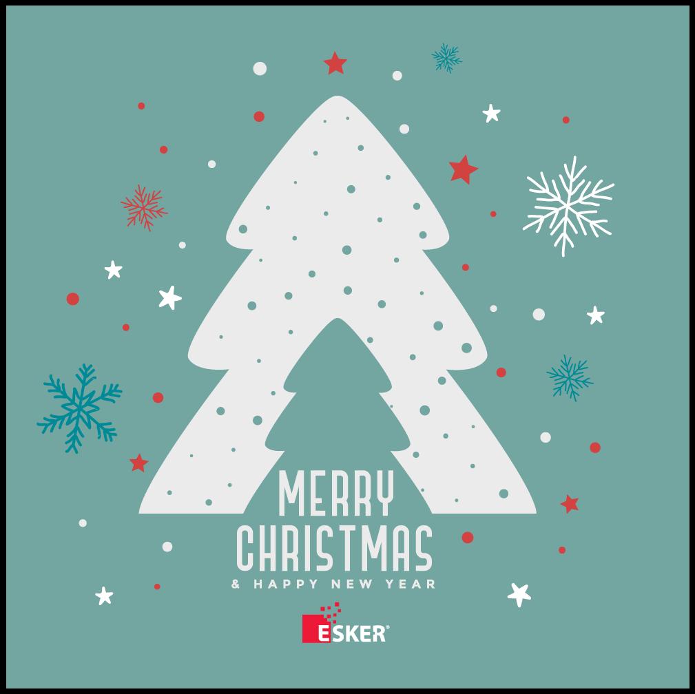 Frohe Weihnachten Aus Deutschland.Esker Wunscht Frohe Weihnachten Und Ein Gutes Neues Jahr