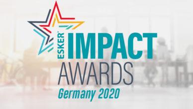 Gezeigt wird das offizielle Logo der Esker Impact Awards 2020 Germany.